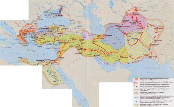 Держава Александра Македонского и государства его преемников